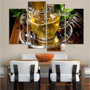 OBJET DÉCORATION MURALE Haute qualité Toile Art Cuisine Peinture Grand Mur
