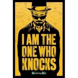 AFFICHE - POSTER Poster Breaking Bad I Am The One Who Knocks 61 x 9