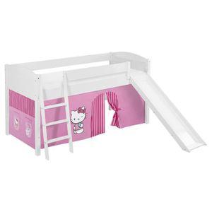 LIT COMBINE  Lit surélevé ludique/évolutif IDA 4106 Hello Kitty