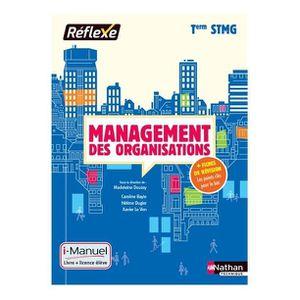 AUTRES LIVRES Management des organisations, terminale STMG : i-m