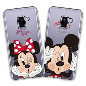info for wide varieties new high quality 2 X Coque Samsung Galaxy J6 Plus 2018, Disney Mouse Doux ...