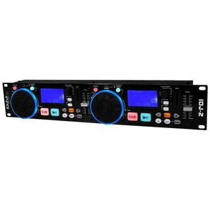 TABLE DE MIXAGE Double contrôleur MP3 / double USB / 2 SD IDJ-2