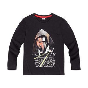 T-SHIRT Star Wars-The Clone Wars   Tee-shirt manches longu
