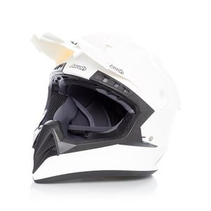 CASQUE MOTO SCOOTER Casque Motocross Airoh Switch Color Blanc