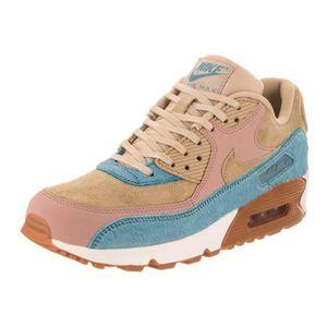 BASKET Nike air max 90 lx femmes M4QJC Taille-40 1-2