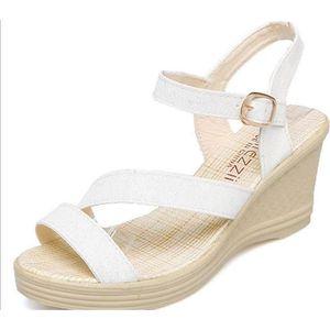 SANDALE - NU-PIEDS Fashion Sandales Compensées femme été Chaussures d