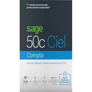 LIVRE COMPTABILITÉ Logiciel Comptabilité- Sage 50cloud Ciel COMPTA -
