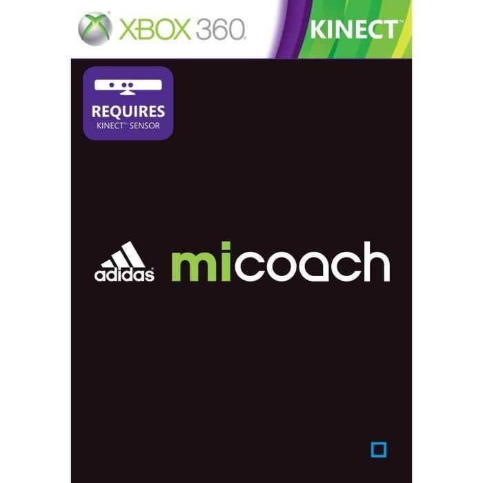 JEUX XBOX 360 ADIDAS MICOACH KINECT / Jeu console XBOX 360