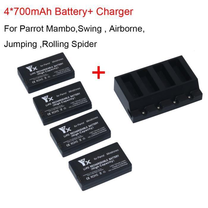 Batterie HD pour Minidrone Mambo *NEUVE* Parrot