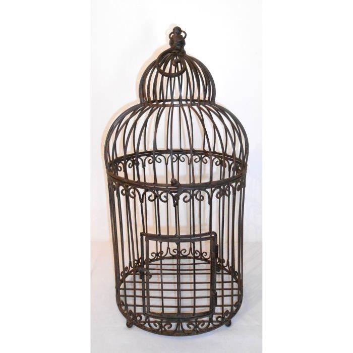 cage oiseaux perchoir fer forg patin 57x28 cm achat vente porte plante cage oiseaux. Black Bedroom Furniture Sets. Home Design Ideas
