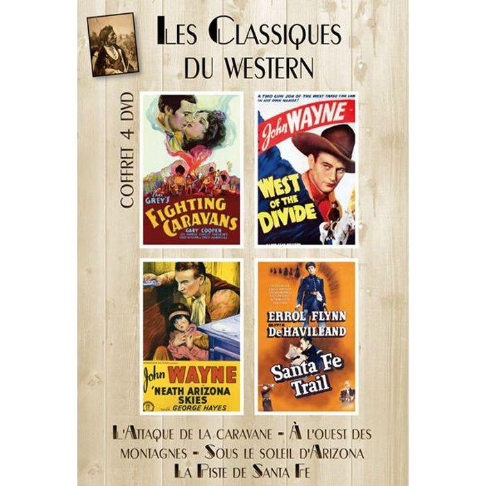 DVD FILM DVD Coffret les classiques du western