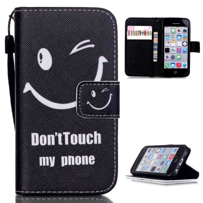 Coque A Rabat Iphone  Personnalise