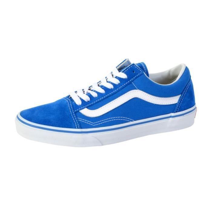 vans old school bleu