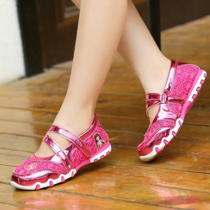 Enfant Été chaussures filles sandales chaussures Douce et belle chaussures de princesse KMXcZrT1