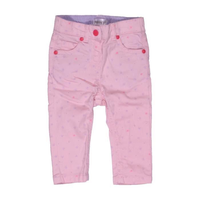96dc632331dd7 Pantalon bébé fille BRIOCHE 6 mois rose été - vêtement bébé  1054490 ...