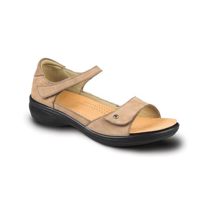 Bali Femmes Comfort Sandales W. amovible Pied Bed & straps réglable Boucle en cuir QVH9S Taille-37