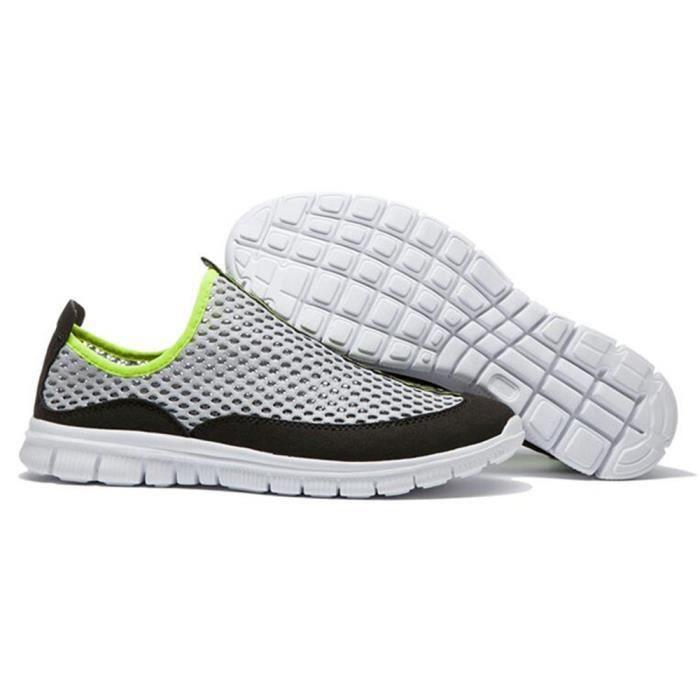 homme Nouvelle qualité Luxe Chaussures Taille Léger De De Chaussure Poids arrive ETE Marque Haut Durable Antidérapant Grande dxww0Y1