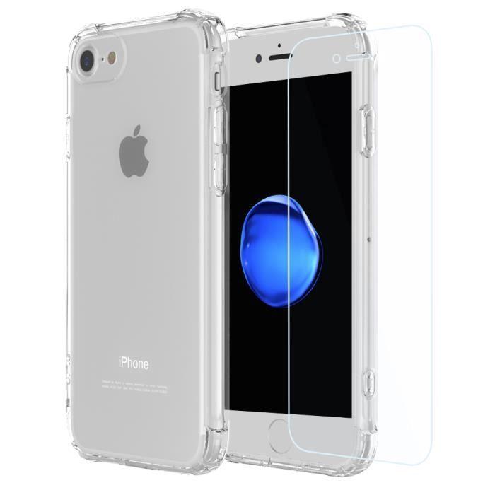 coque et vitre iphone 8