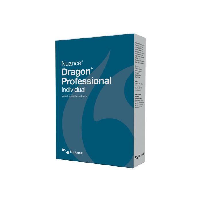 BUREAUTIQUE Dragon Professional Individual (v. 14) pack de boî