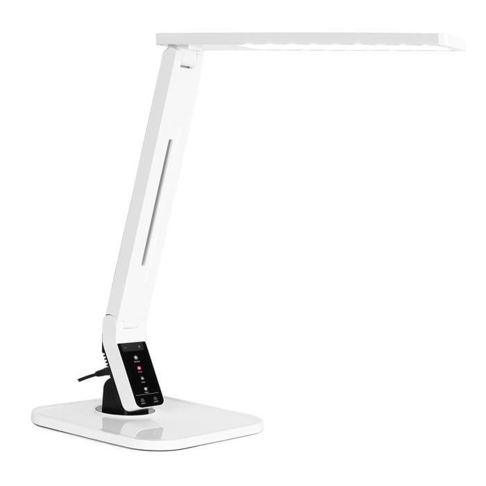 oneconcept daily light lampe de bureau led moderne avec. Black Bedroom Furniture Sets. Home Design Ideas