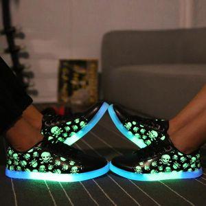 MOONAR® Pour Couple, chaussures fluorescentes S...