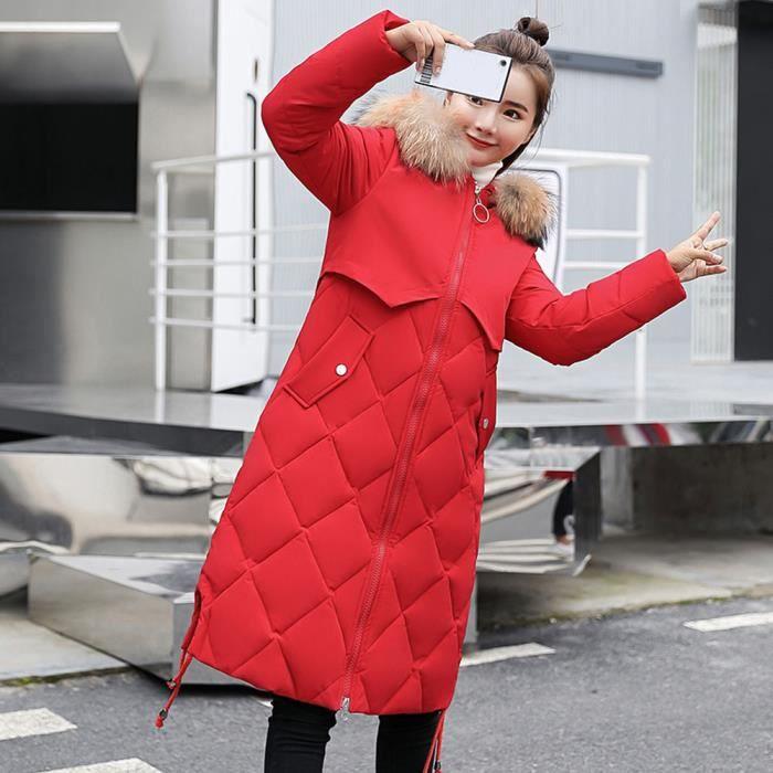 En Chaud Les D'hiver Femmes Veste Slim Long Manteau Pageare4142 À Capuchon Fausse Fourrure Épais wwI6U