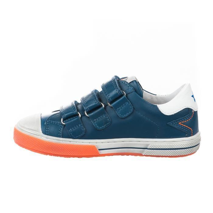 Baskets garçon - LITTLE DAVID - Bleu marine - ZIOM 2 11813692 - Millim