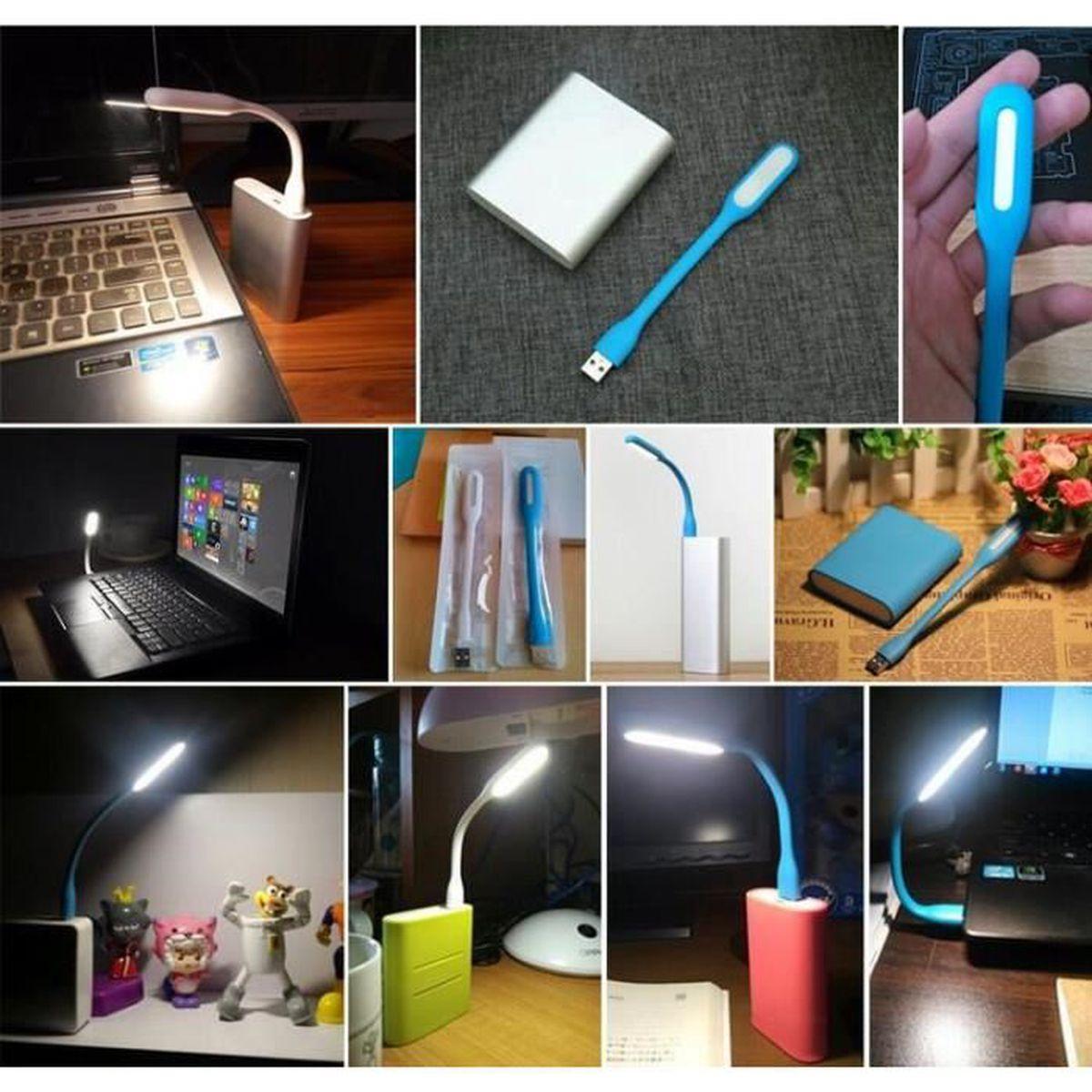 Bank Mini Lampe Portable Usb Ordinateur Led Xiaomi Power Lumière Pour eWEHID2b9Y