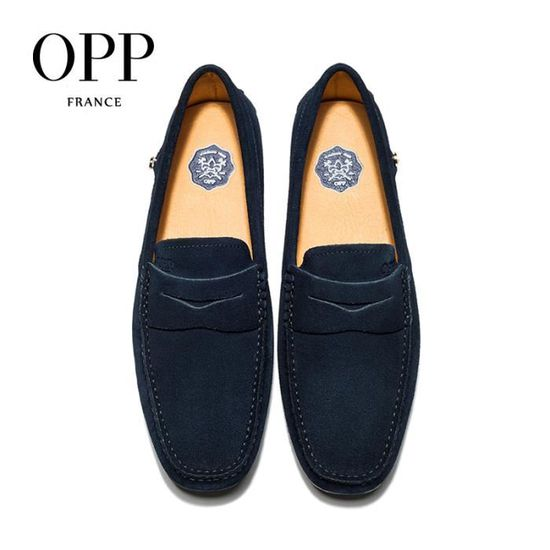 OPP Chaussures Hommes Confortable Moccasins Durable OD17126-6bleu39 vIiNK