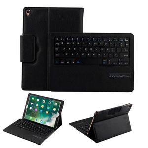 CLAVIER POUR TABLETTE Deessesale®Housse de clavier amovible Bluetooth Fl