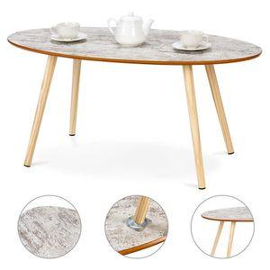 TABLE BASSE Table d'Appoint Table basse Table à café en Bois R