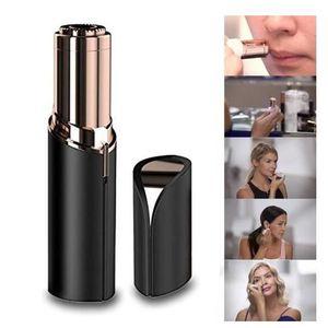 ÉPILATEUR ÉLECTRIQUE Épilation au rouge à lèvres, mini dispositif d'épi