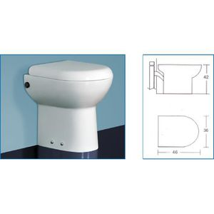 WC - TOILETTES  WC avec broyeur incorporé TECHNO FLUX 46