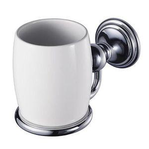 Verre à eau - Soda Haceka Allure, Chrome, Blanc, Monotone, Porcelaine