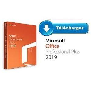 BUREAUTIQUE À TÉLÉCHARGER Office 2019 Pro plus PC Version à telecharger