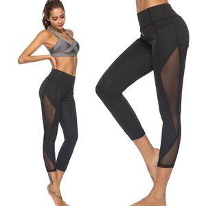 PANTALON DE SPORT Femmes Leggings Sport Fitness Gym Courir Yoga Pant 82150b74df4d