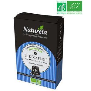CAFÉ - CHICORÉE Caps.naturela deCaféine biox10