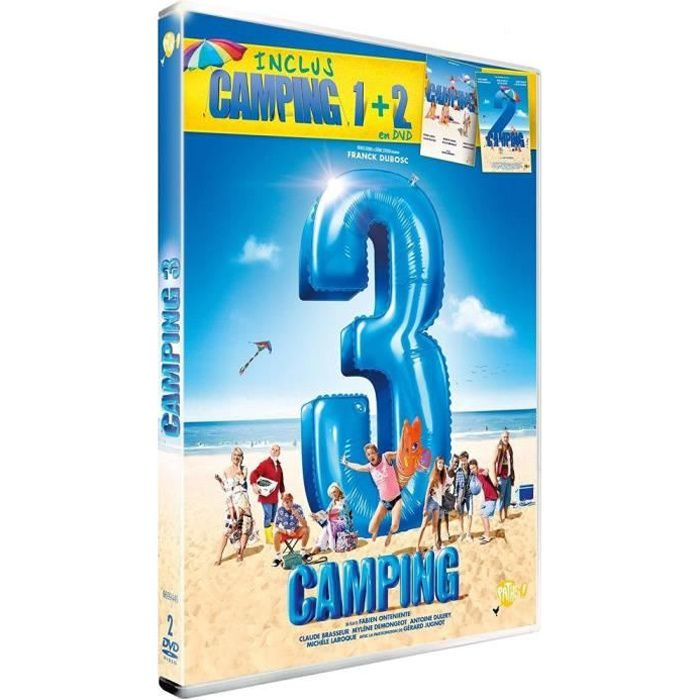 DVD Camping 3 (inclus Camping 1 + 2)