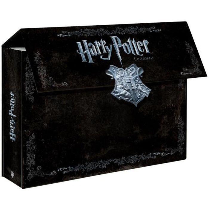coffret dvd harry potter l 39 int grale 8 dvd en dvd dessin. Black Bedroom Furniture Sets. Home Design Ideas