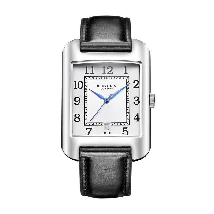 MONTRE Blenheim London® B3180Curve montre Blanc Chiffre