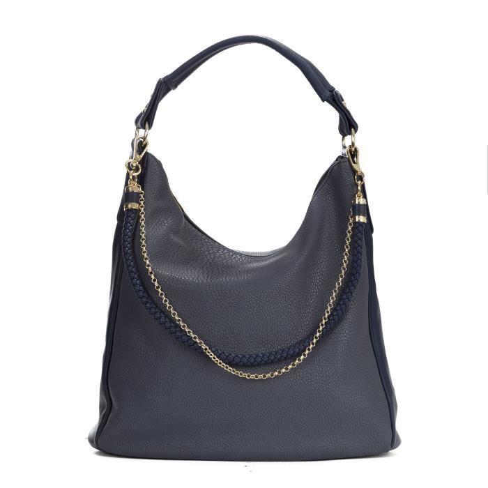 Pu cuir sac à main coréenne Fashion Designer Sac à bandoulière avec des sangles de la chaîne Mignon UBAOV