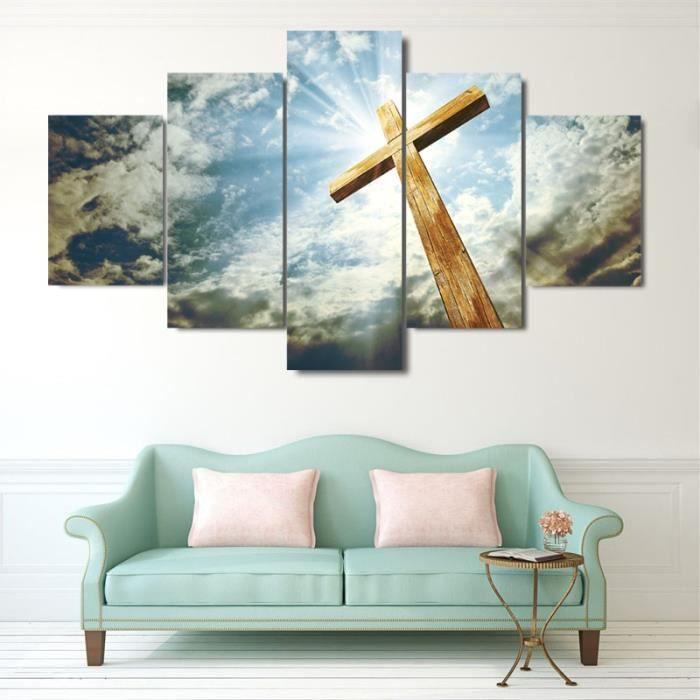 5 panneau mural art image moderne d coration salon ou la chambre toile peinture murale image pas - Panneau mural chambre ...