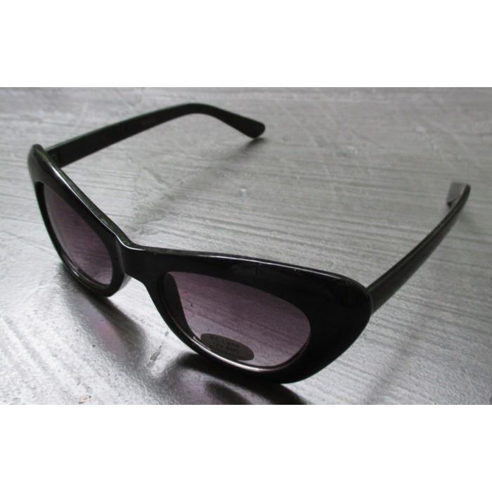 f6ad5521ed9124 lunette de soleil femme petit cat eye noire pin up rockab ...