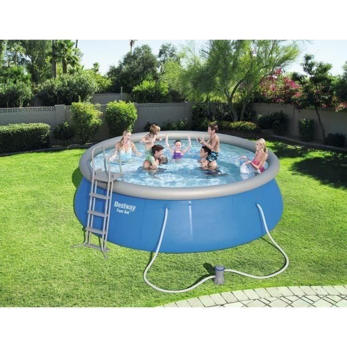 piscine bestway fast set pool - achat / vente piscine bestway fast