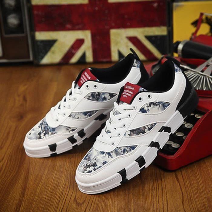 KIANII® Baskets Homme Maille Respirante Chaussures de Course Occasionnels XAC3xt