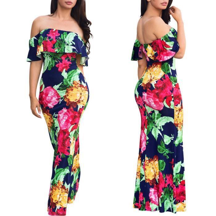 robe Mode LZP80308145 Mini longues manches féminine épaule jean en à hors 6UA6TqZg