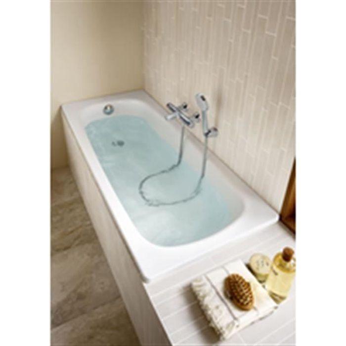 roca baignoire contesa nue 120x70 non percee blanc r f. Black Bedroom Furniture Sets. Home Design Ideas