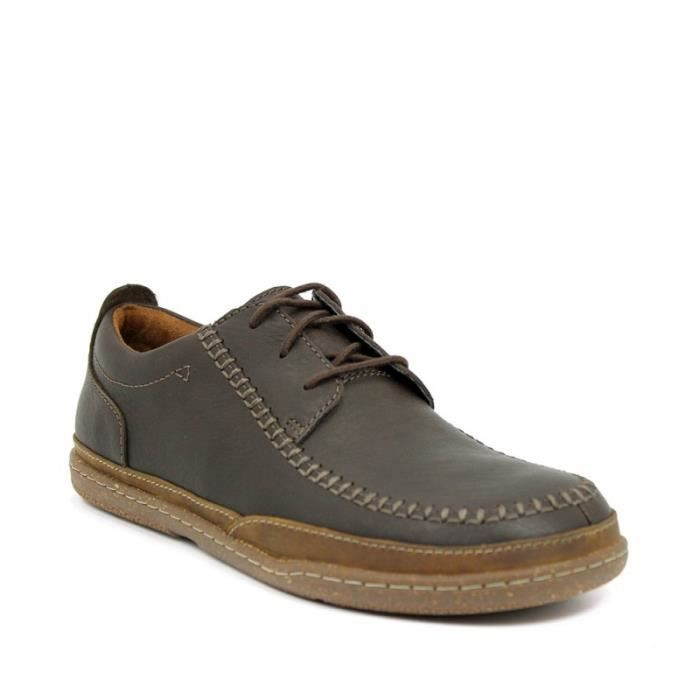 CLARKS Chaussures TRAPELL TABLIER - Taille - Quarante Homme Ref. 2397_37062