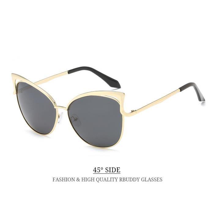 ... RBUDDY femme lunettes polarisantes 2017 Marque Designer Ladies Lunettes  de soleil en métal ombre Cadre rétro ... 00cb0541bb0