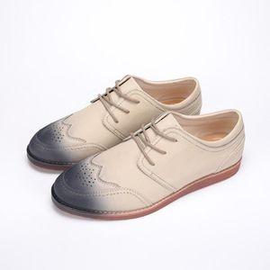 chaussures multisport Femme simple cuir véritable Souliers simples de femme blanc taille39 TpPkyZ7JZ